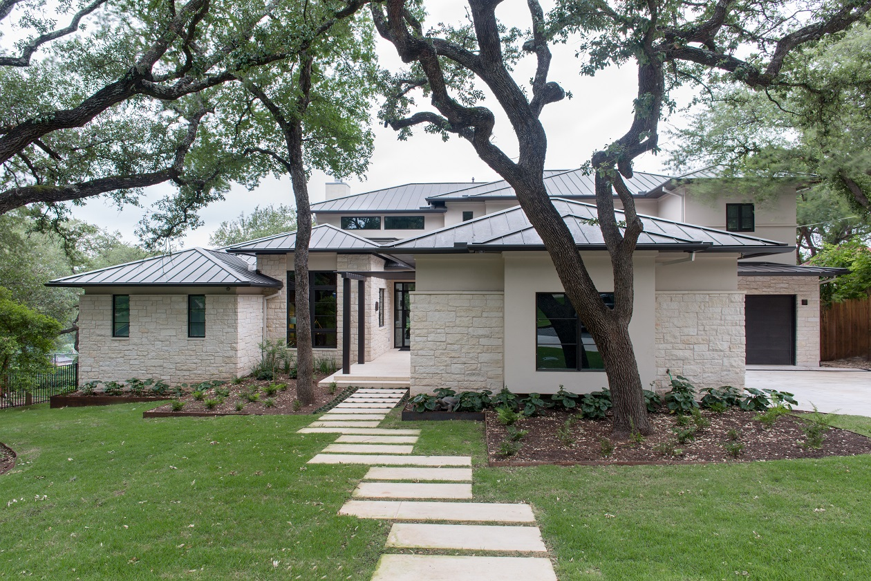lake-austin-residence-front-elevation