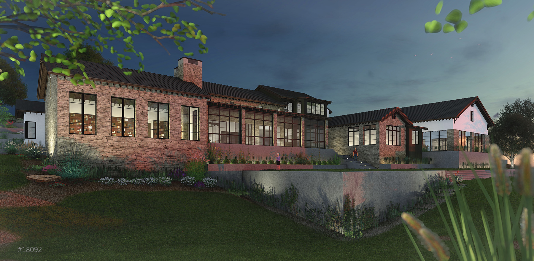 Transitional Rear Rendering