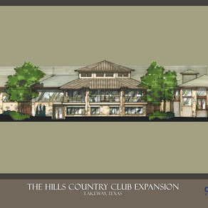 Cornerstone Architects design Hill Country Club