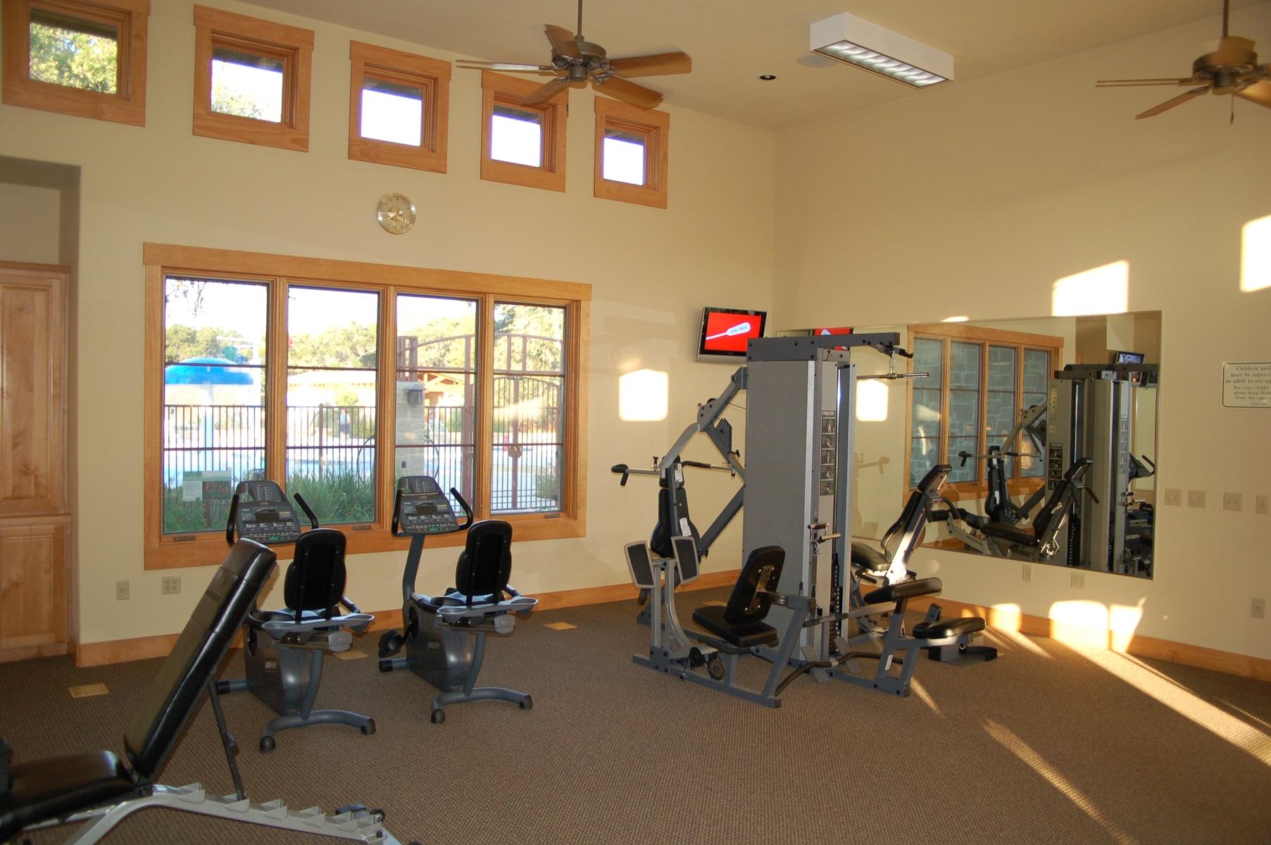 Belterra Amenity Center Gym