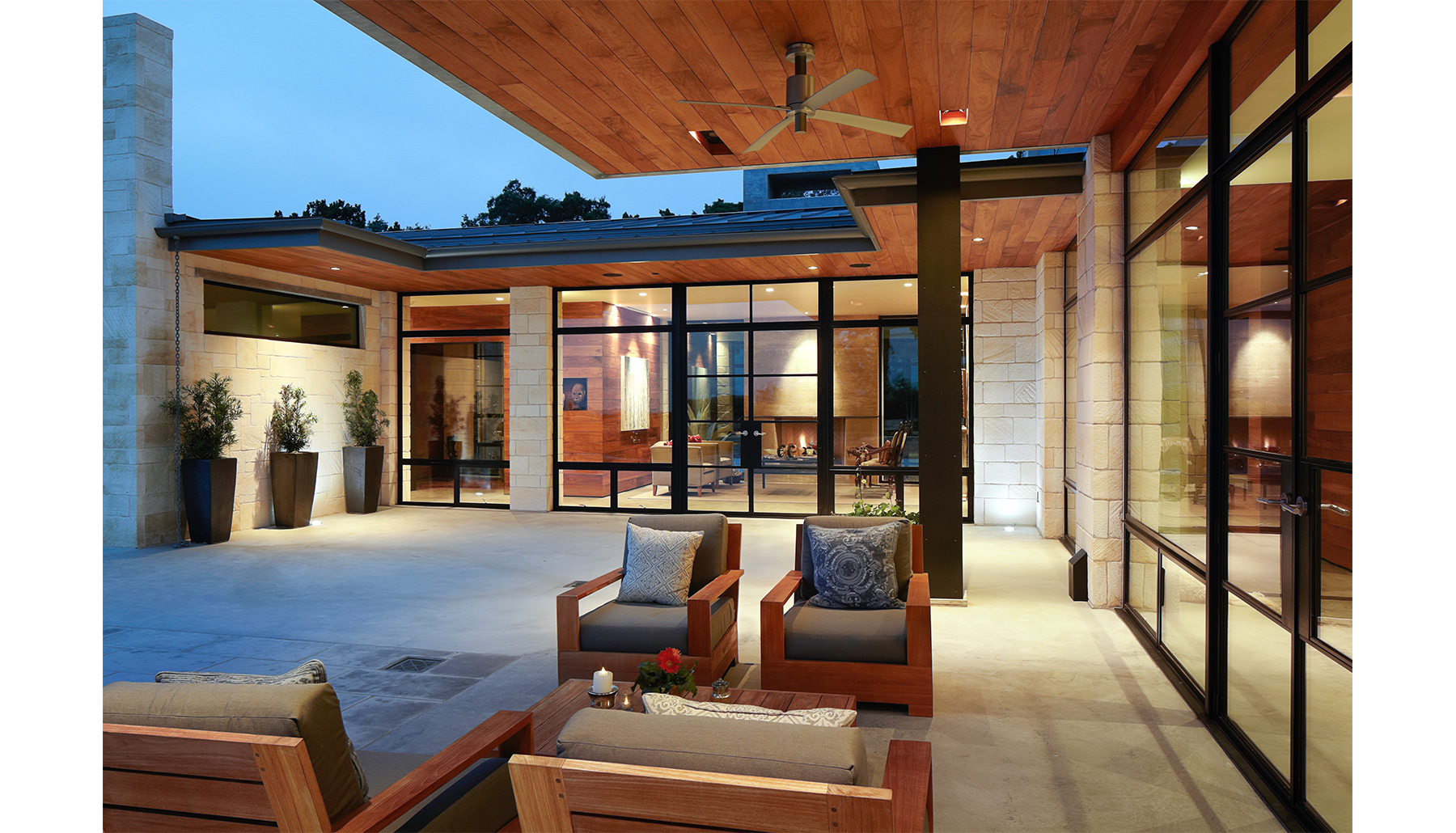Hill Country Outdoor Patio