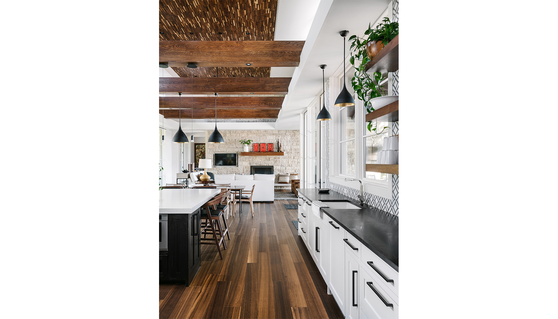 Spicewood Living Dining Kitchen