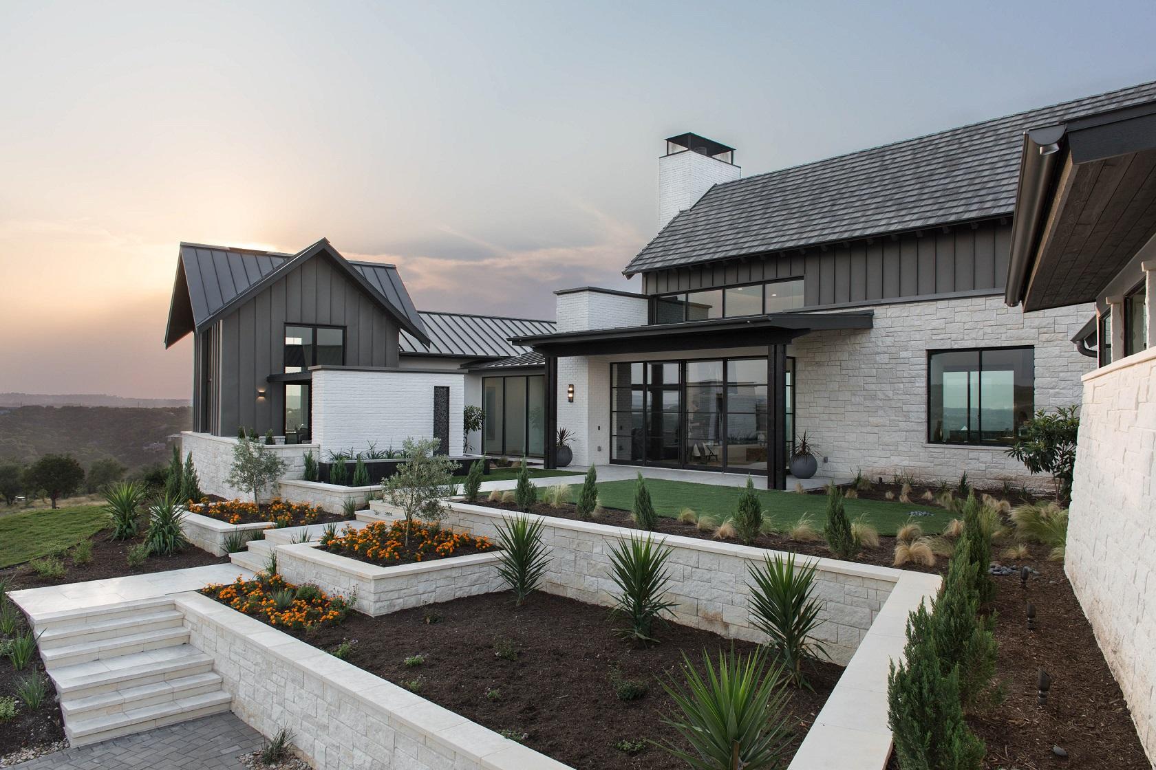Peninsula Residence - front exterior