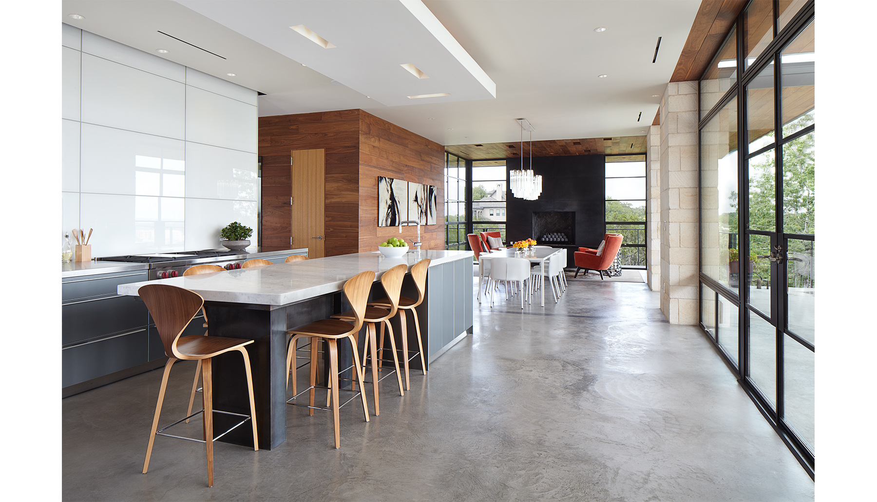 Hill Country Kitchen Living Dining