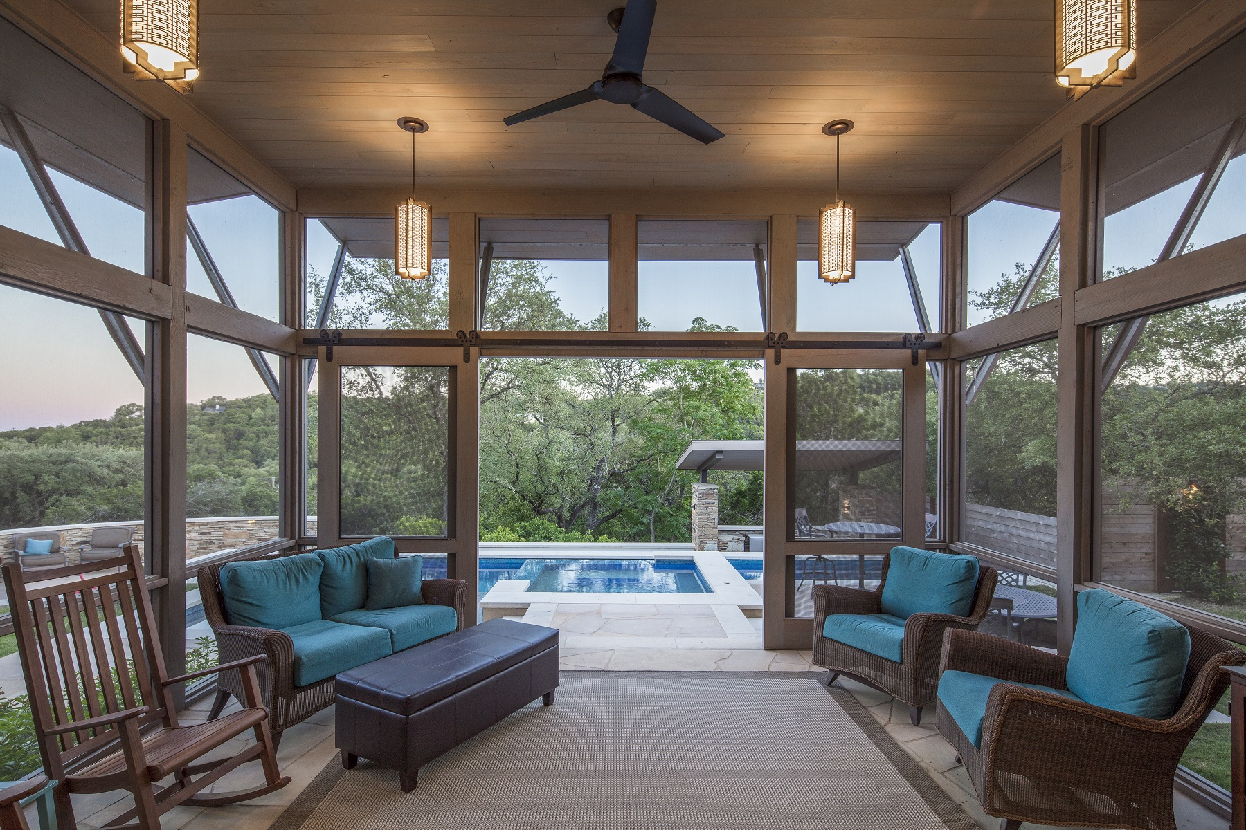 Ledge Screened Porch