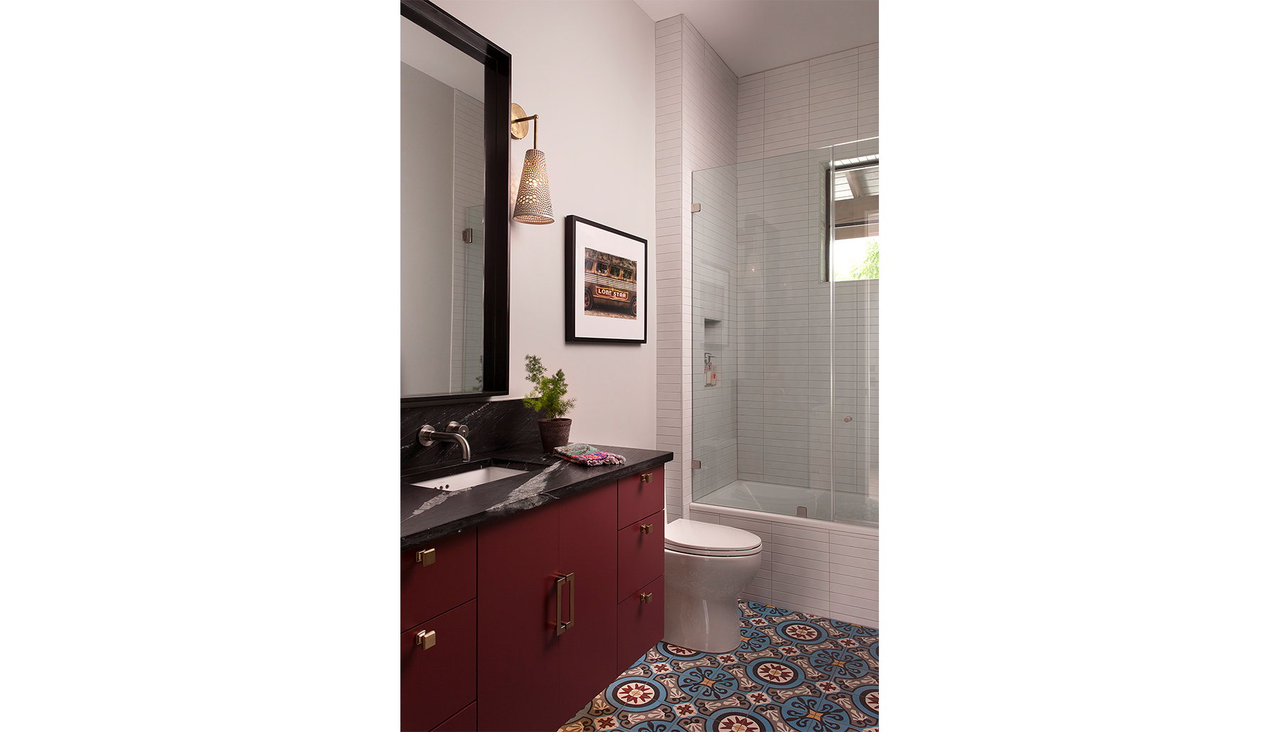 Rosewood Guest Bath