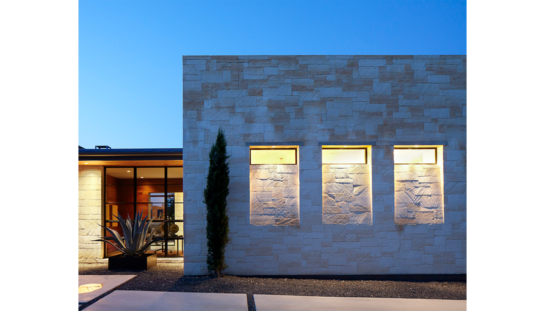 Hill Country Front Twilight