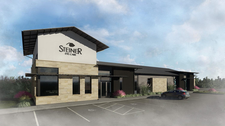 Steiner Eye Care - Rendering