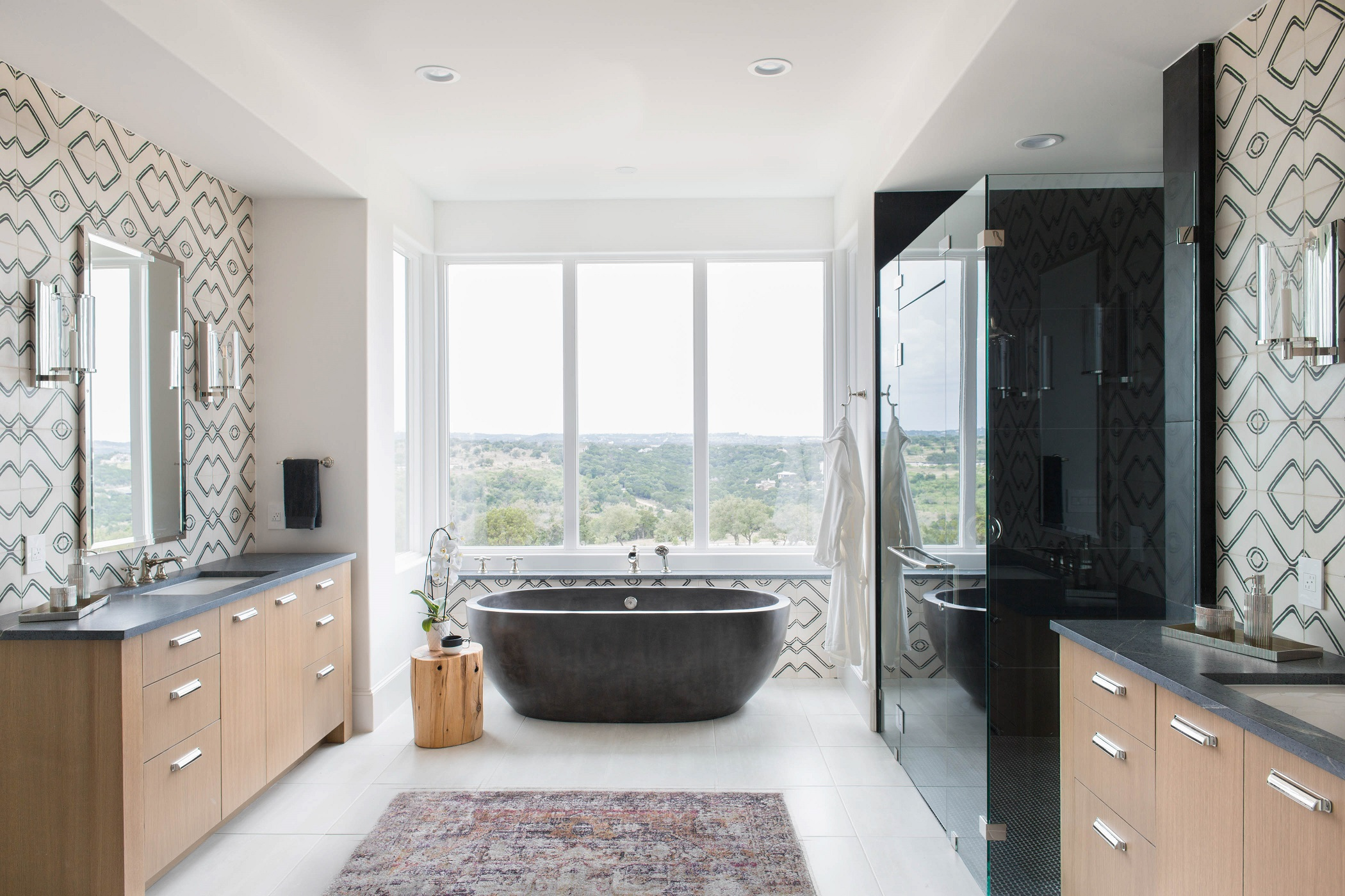 Peninsula Residence - master bath