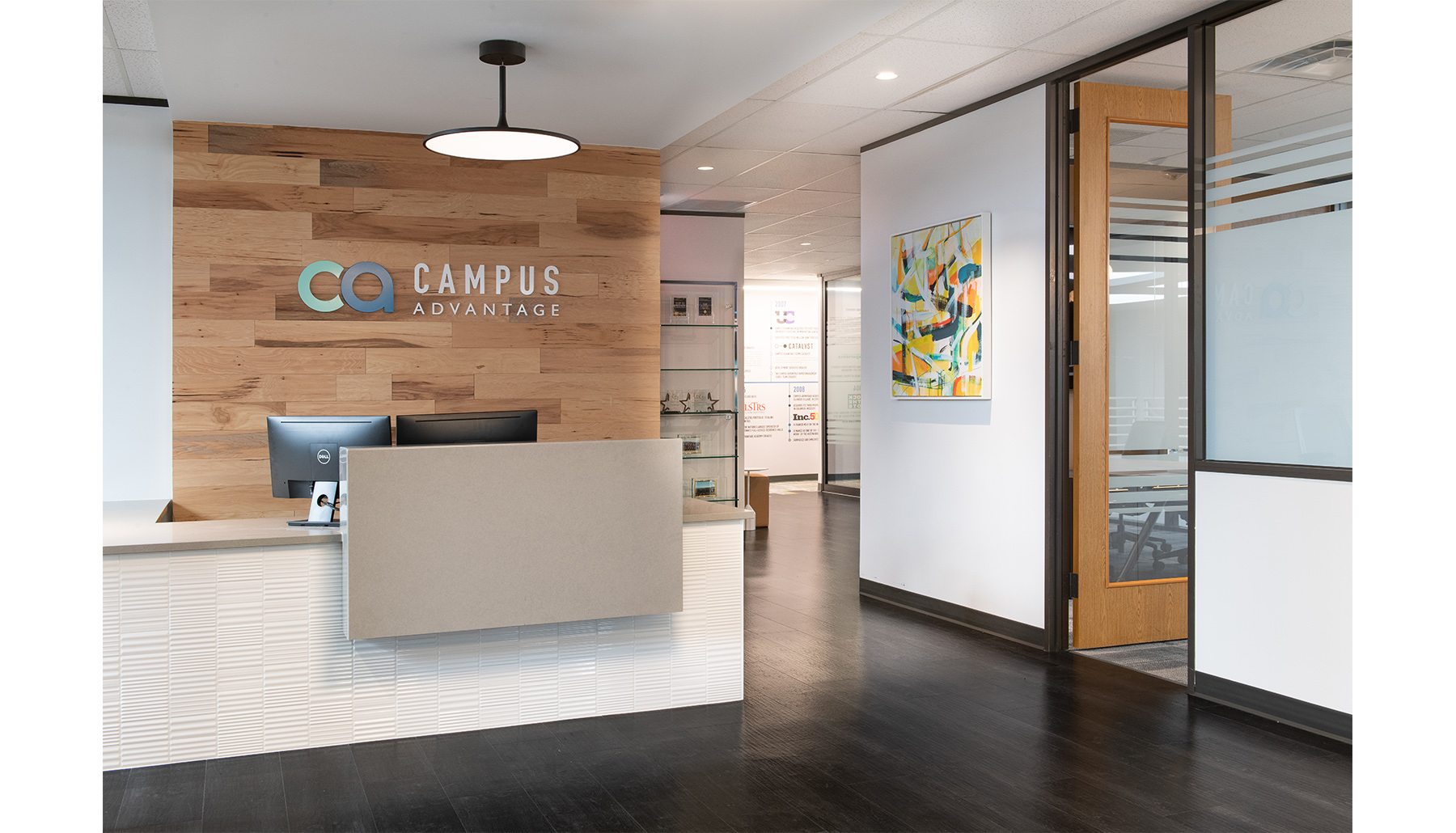 Campus Advantage Reception Angle