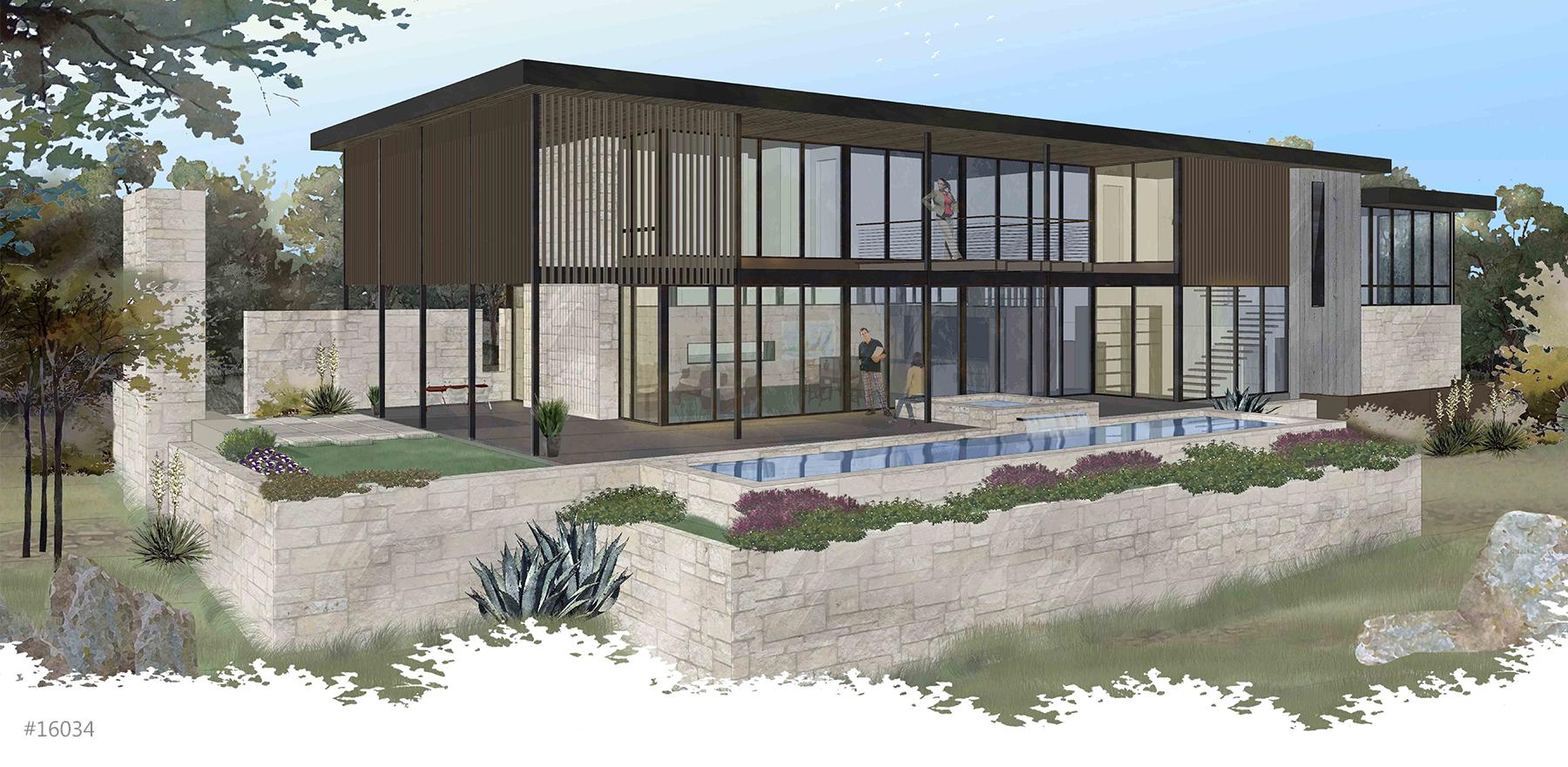 Butler Cove Modern Rendering