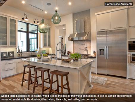 Cornerstone Architects Design- Ecofriendly Kitchen