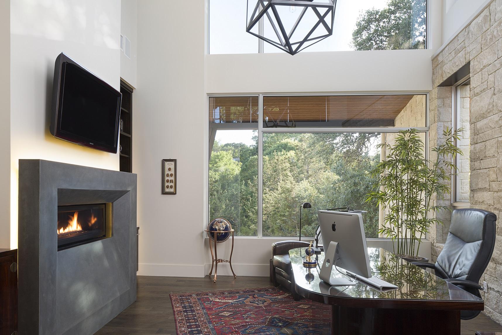 Stratford Residence-29-office-room