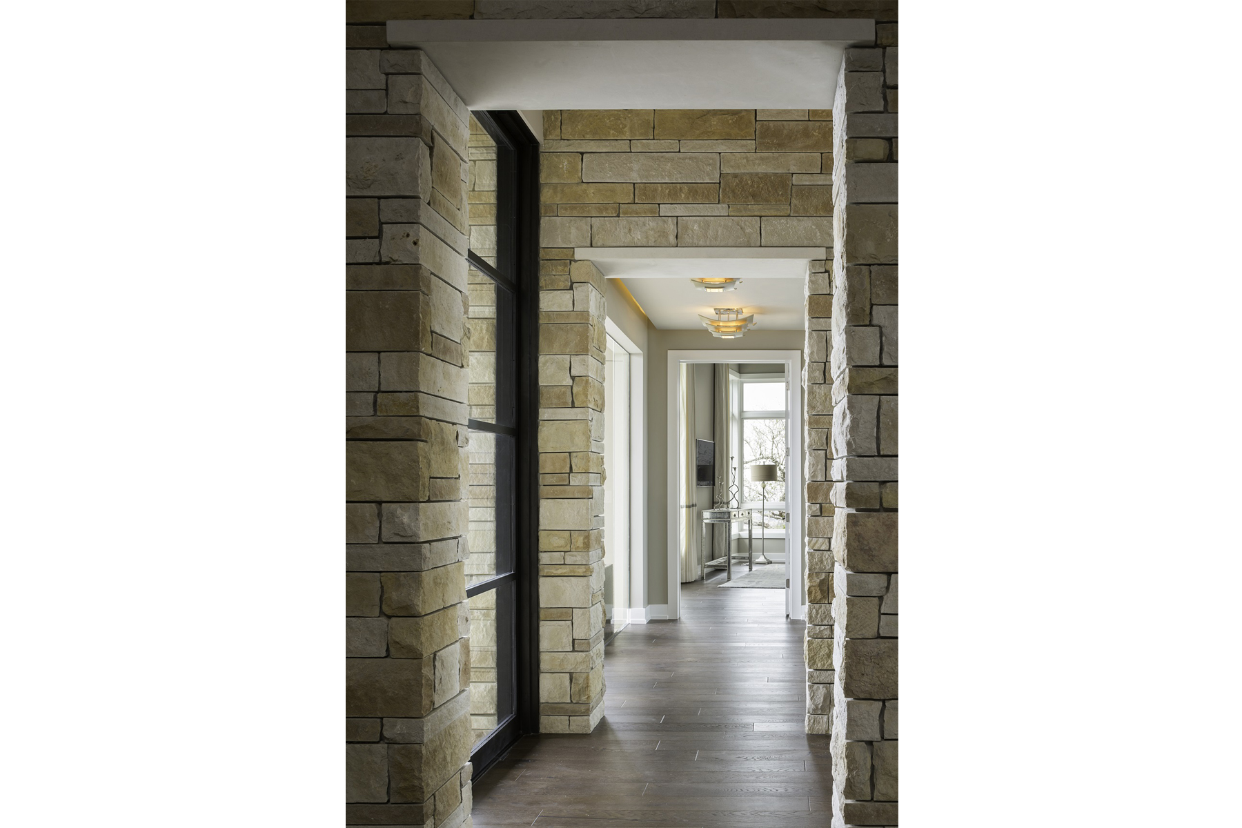 Duckhorn Residence - hallway