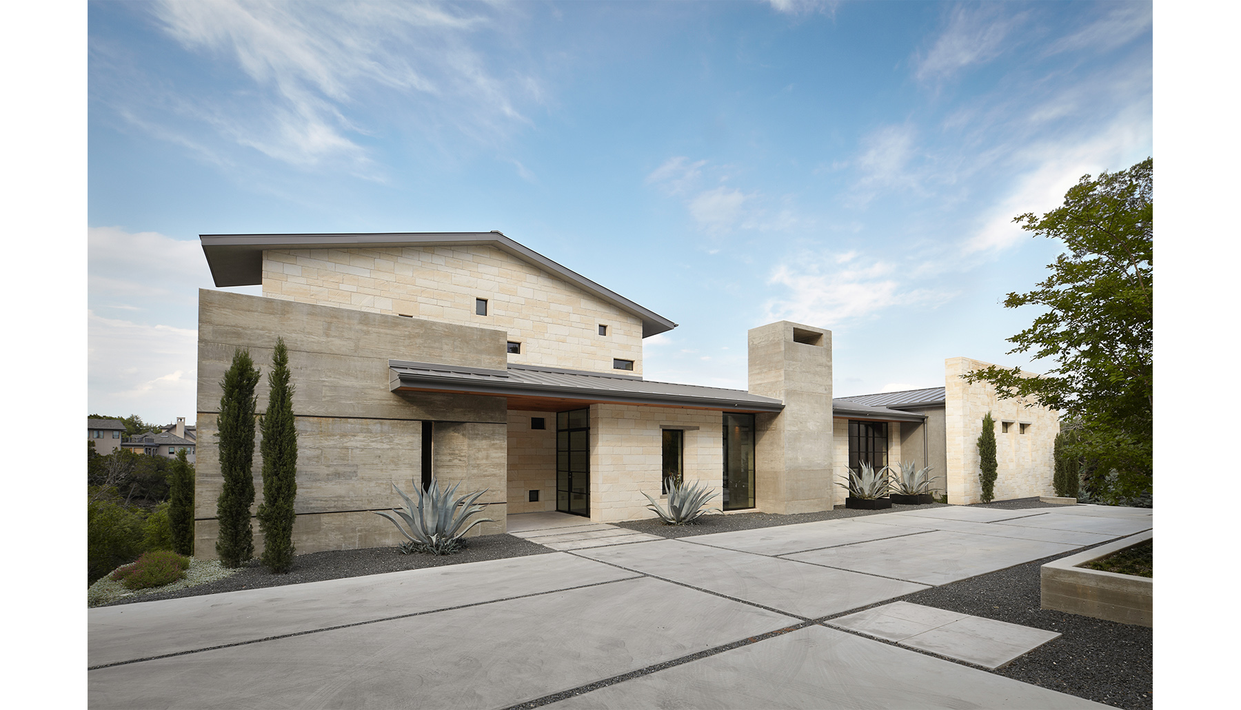 Hill Country Front Exterior