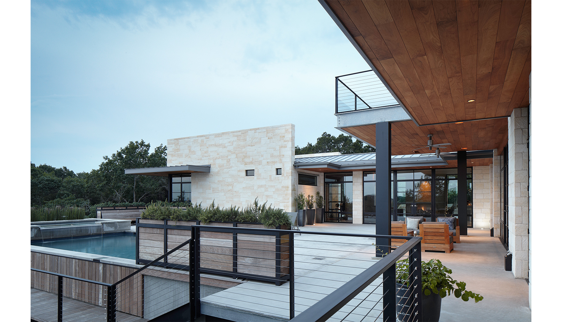 Hill Country Rear Exterior