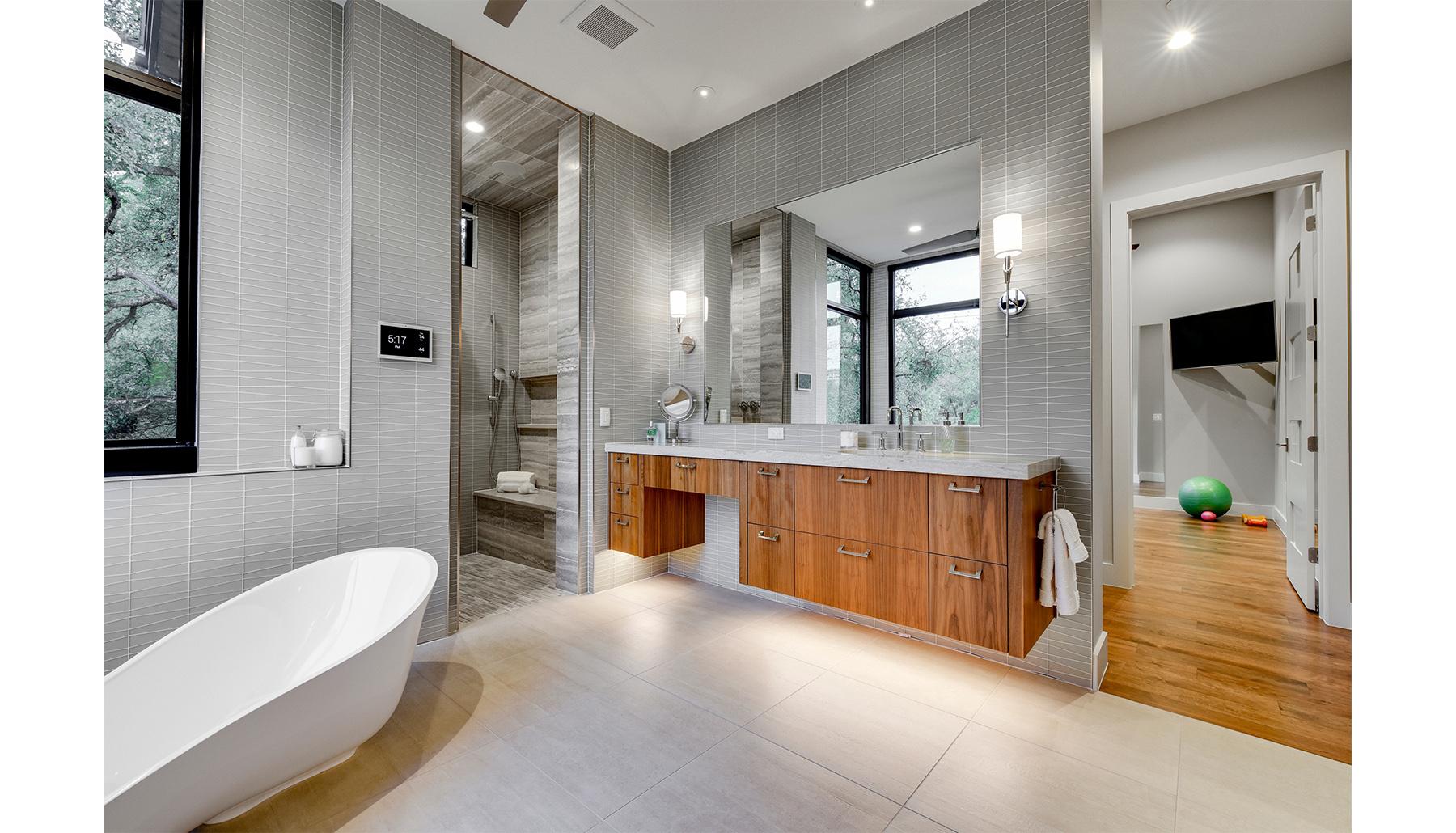 Greenshores Master Bath Vanity