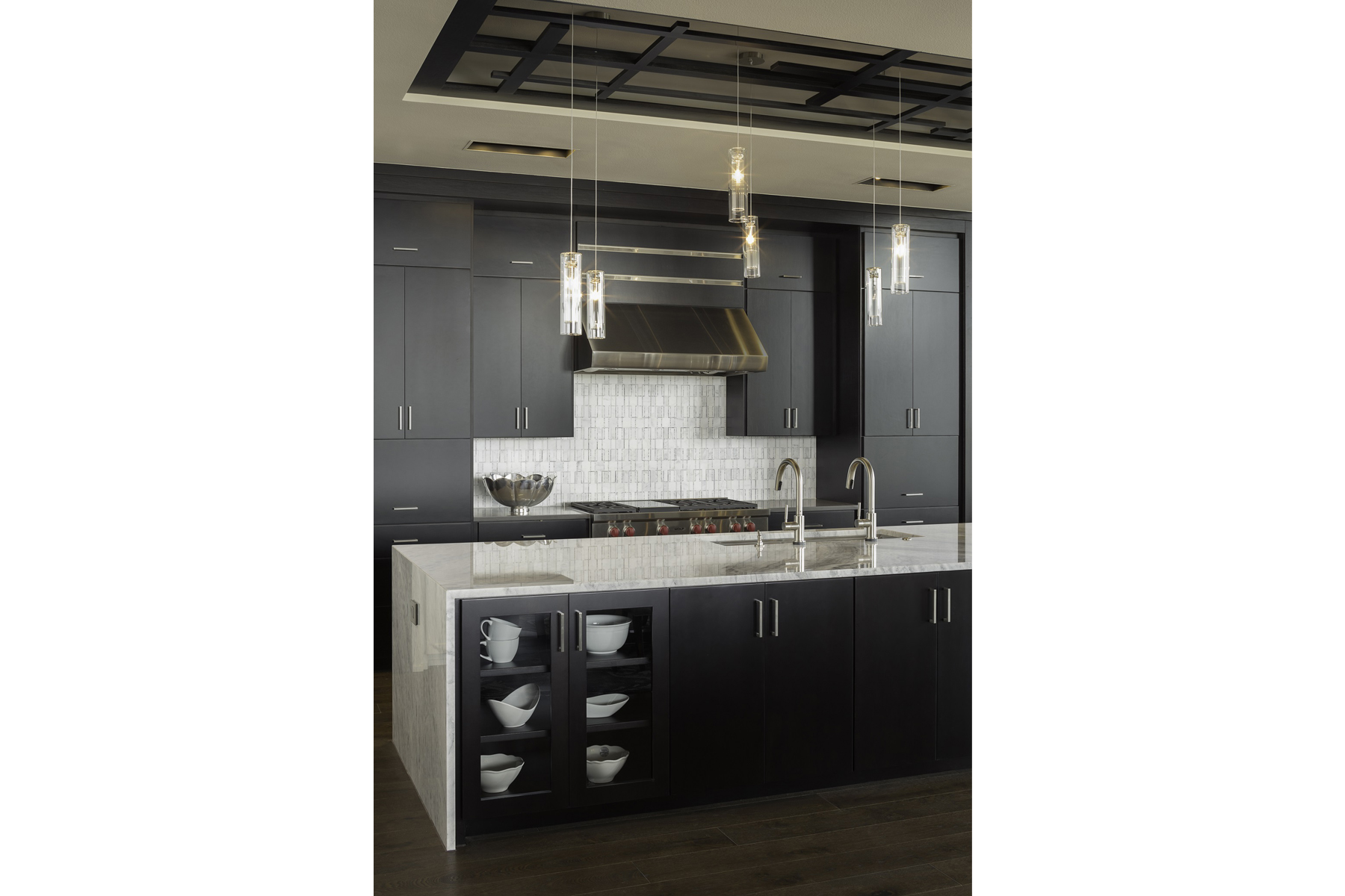 Duckhorn Residence - kitchen island