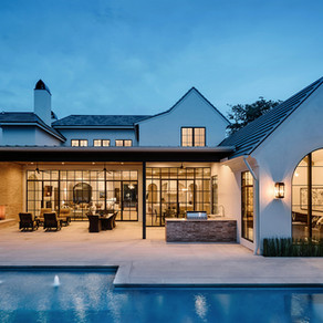 Wallis Residence Featured (twice) in Luxe Interiors + Design!