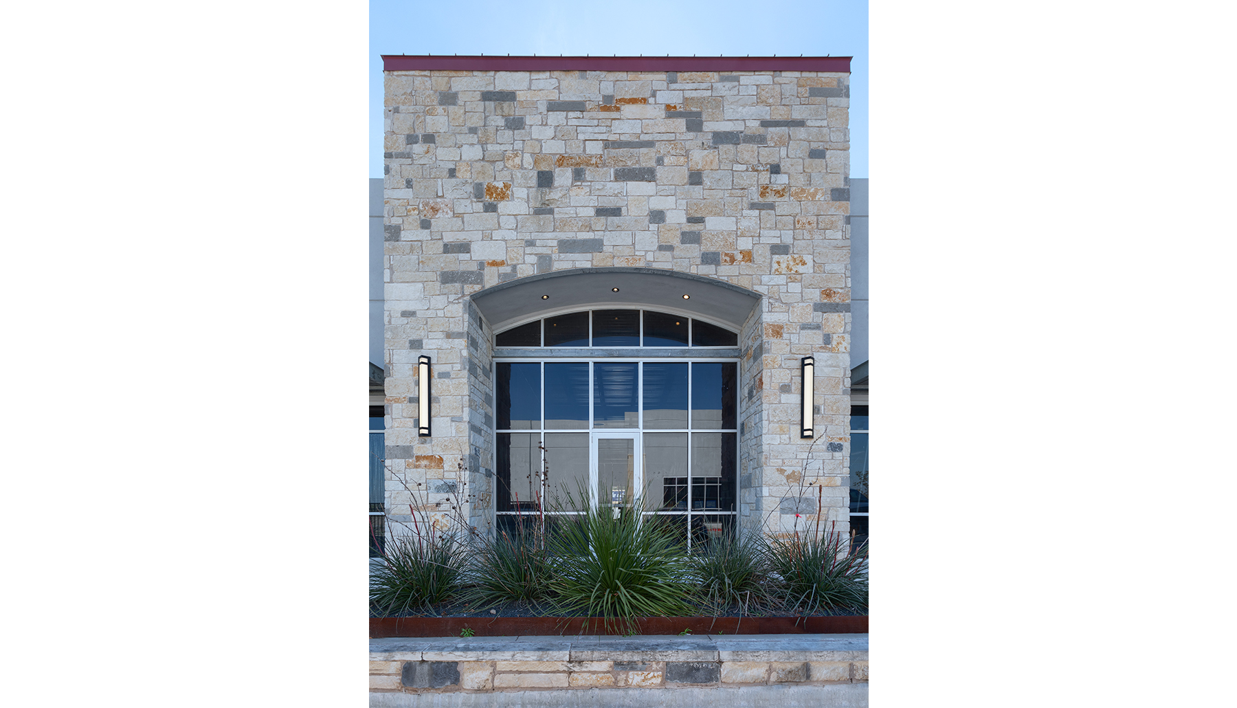 Cold Springs Marketplace Stone Wall