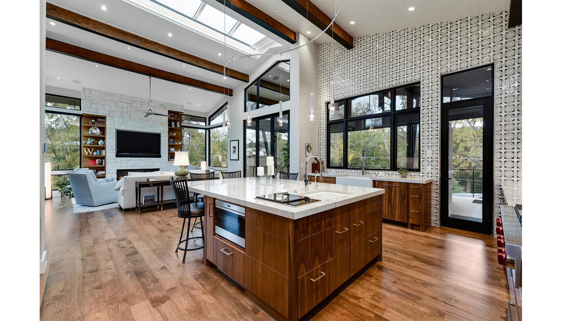 Greenshores Kitchen Living