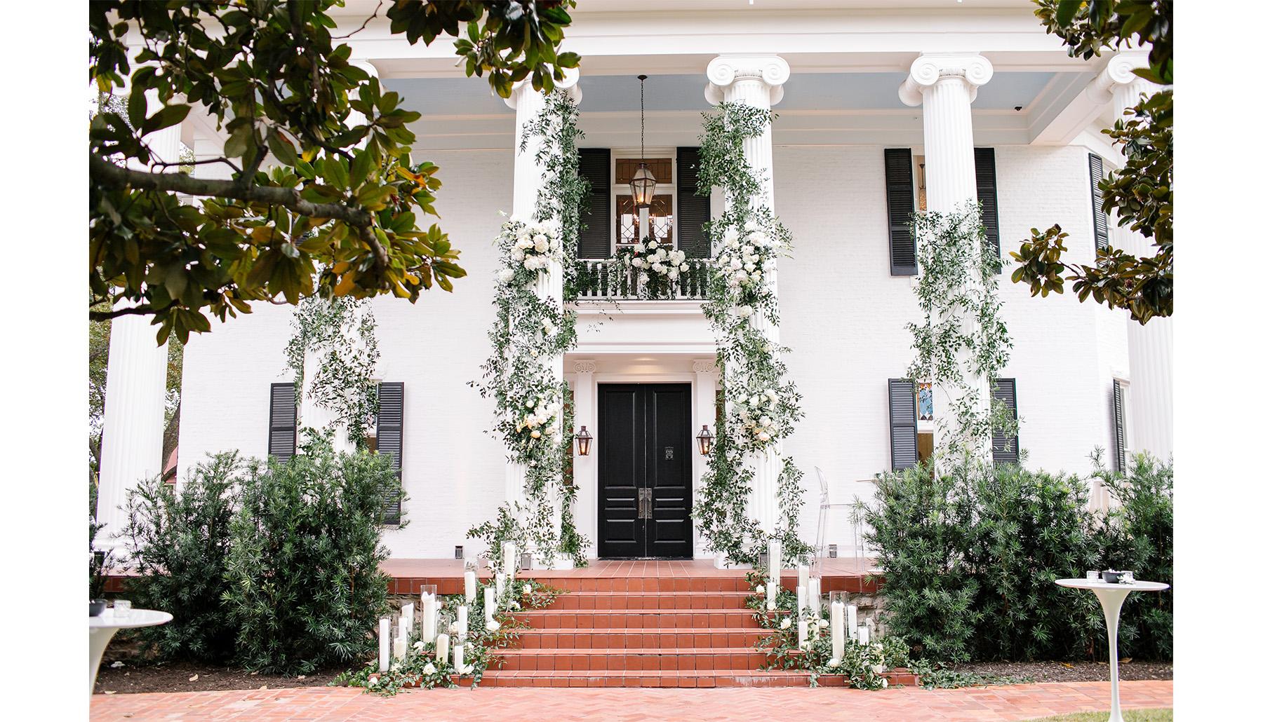 Woodbine Mansion Front Entrance