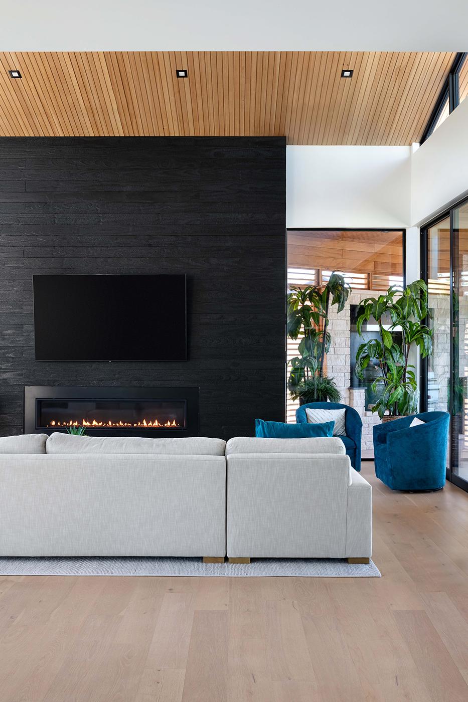 Two Coves Modern Living Room