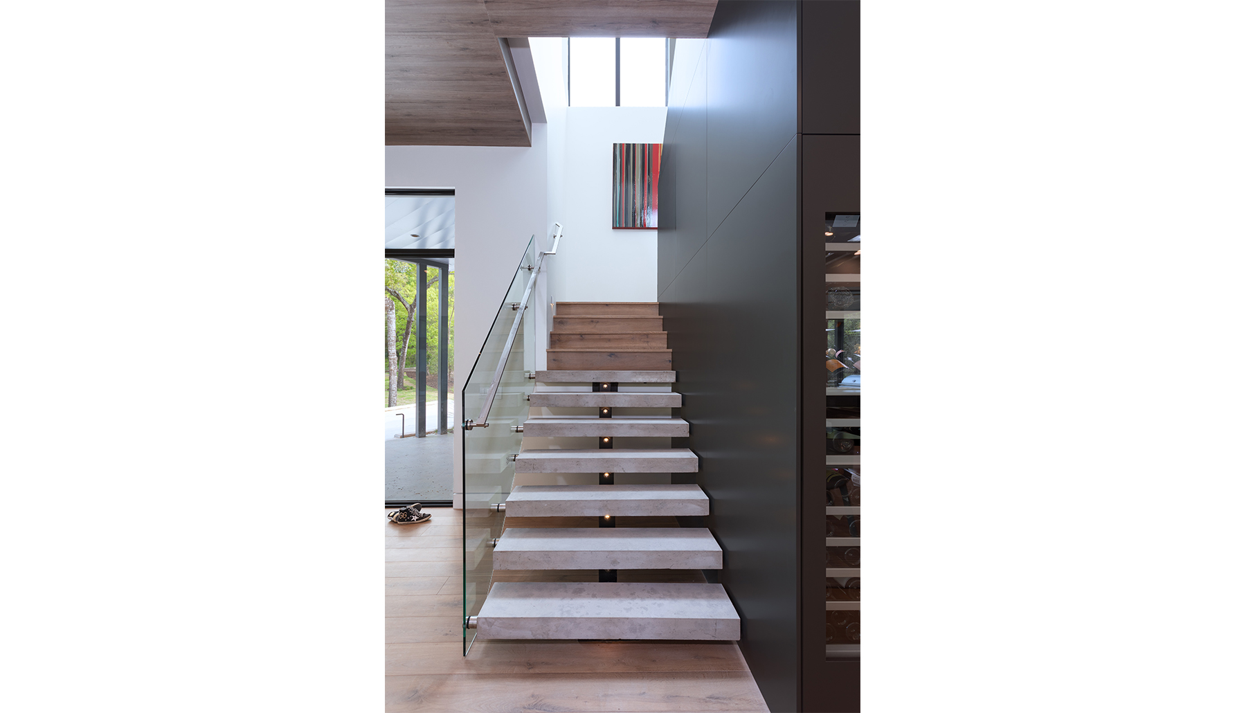 Madrones Stairs