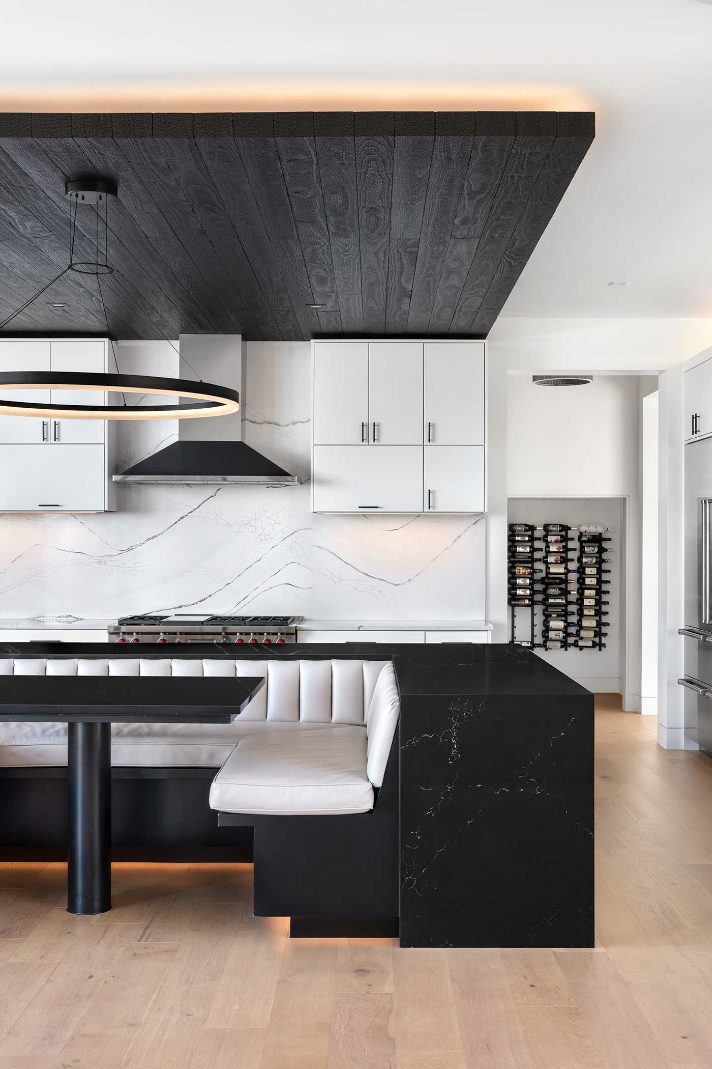 Two Coves Contemporary Kitchen Seating