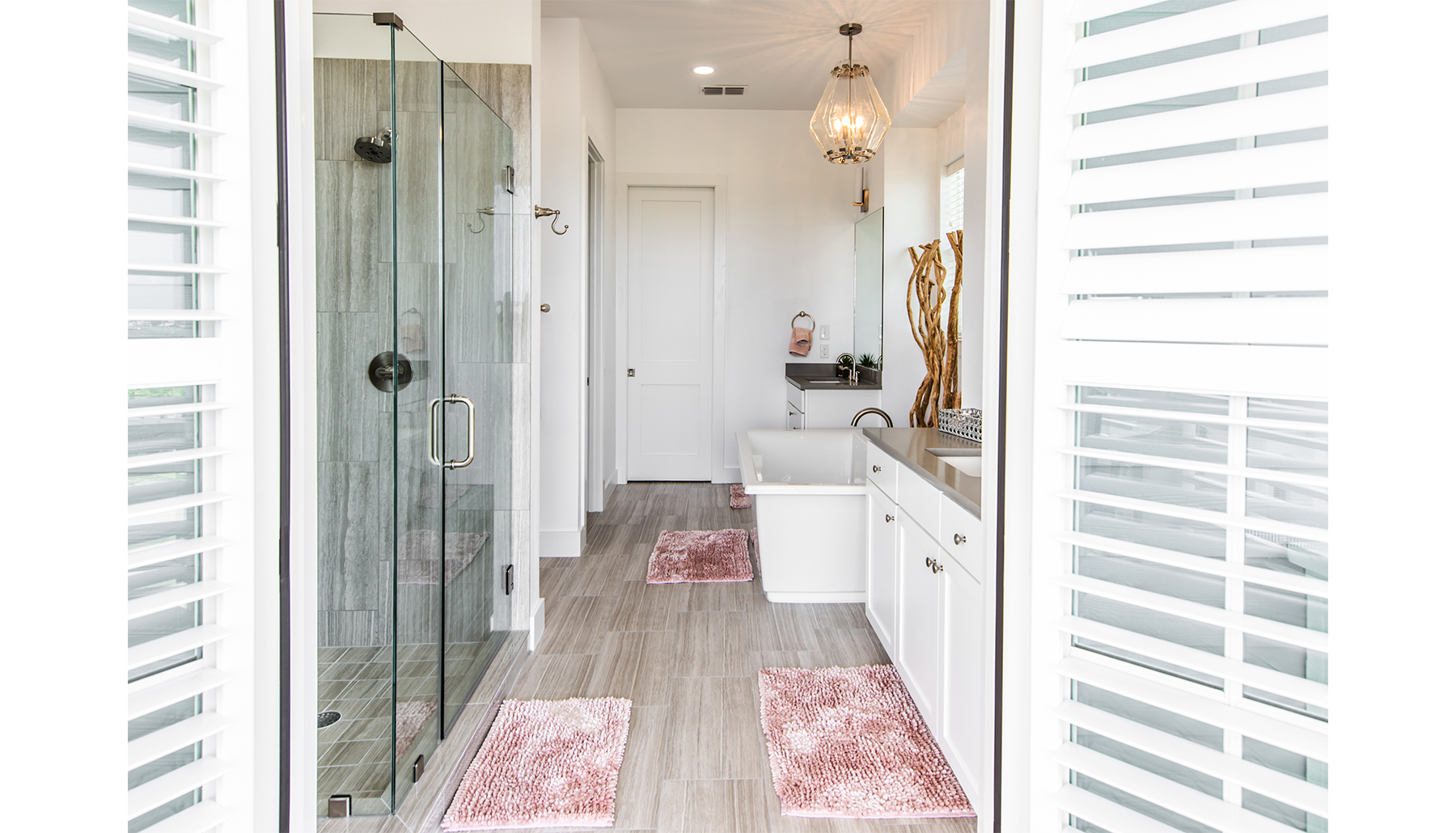 Palmilla Master Bath Doorway