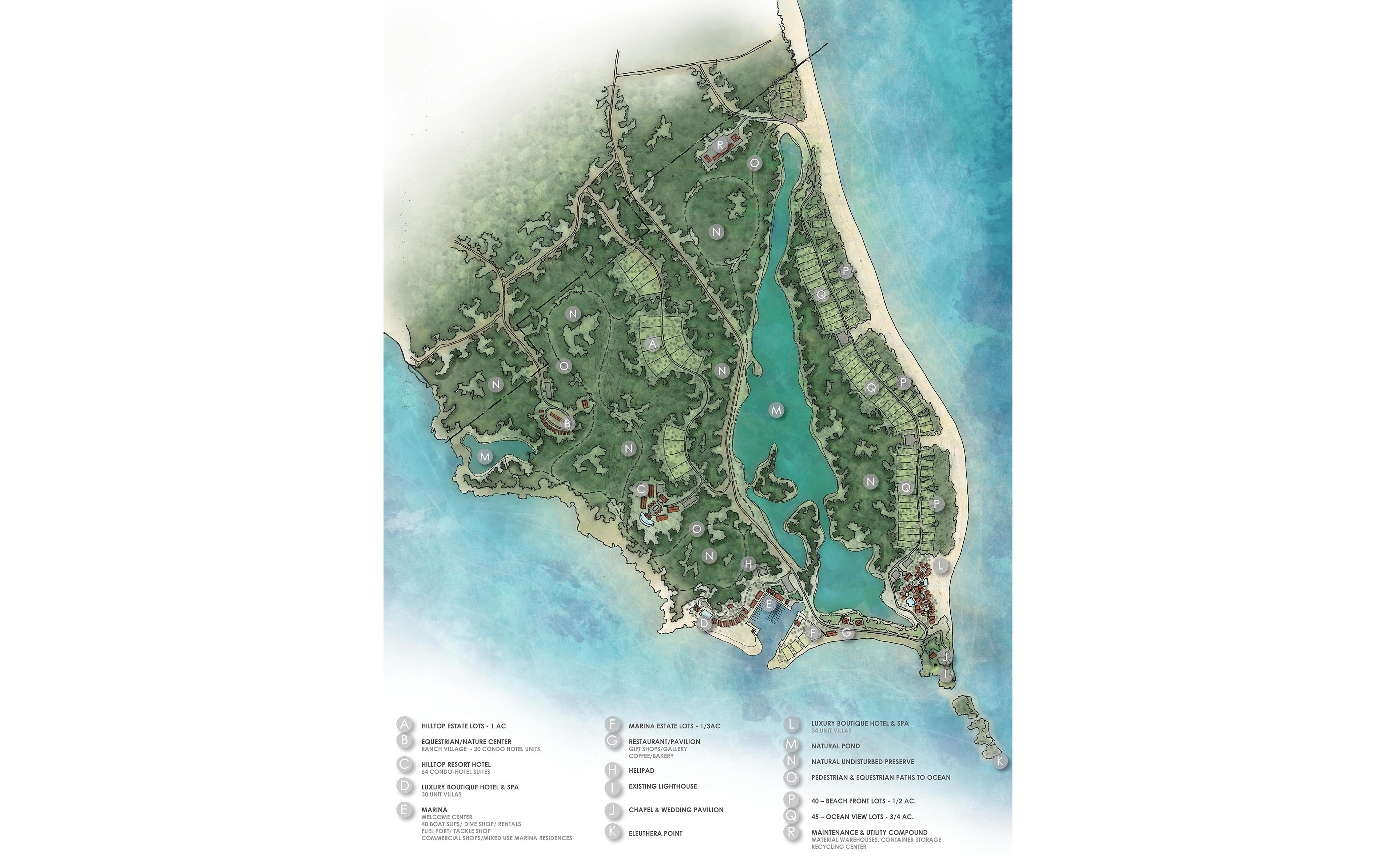 Eleuthera Lighthouse Point Site Master Plan
