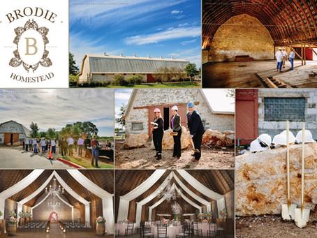 Brodie Barn Groundbreaking