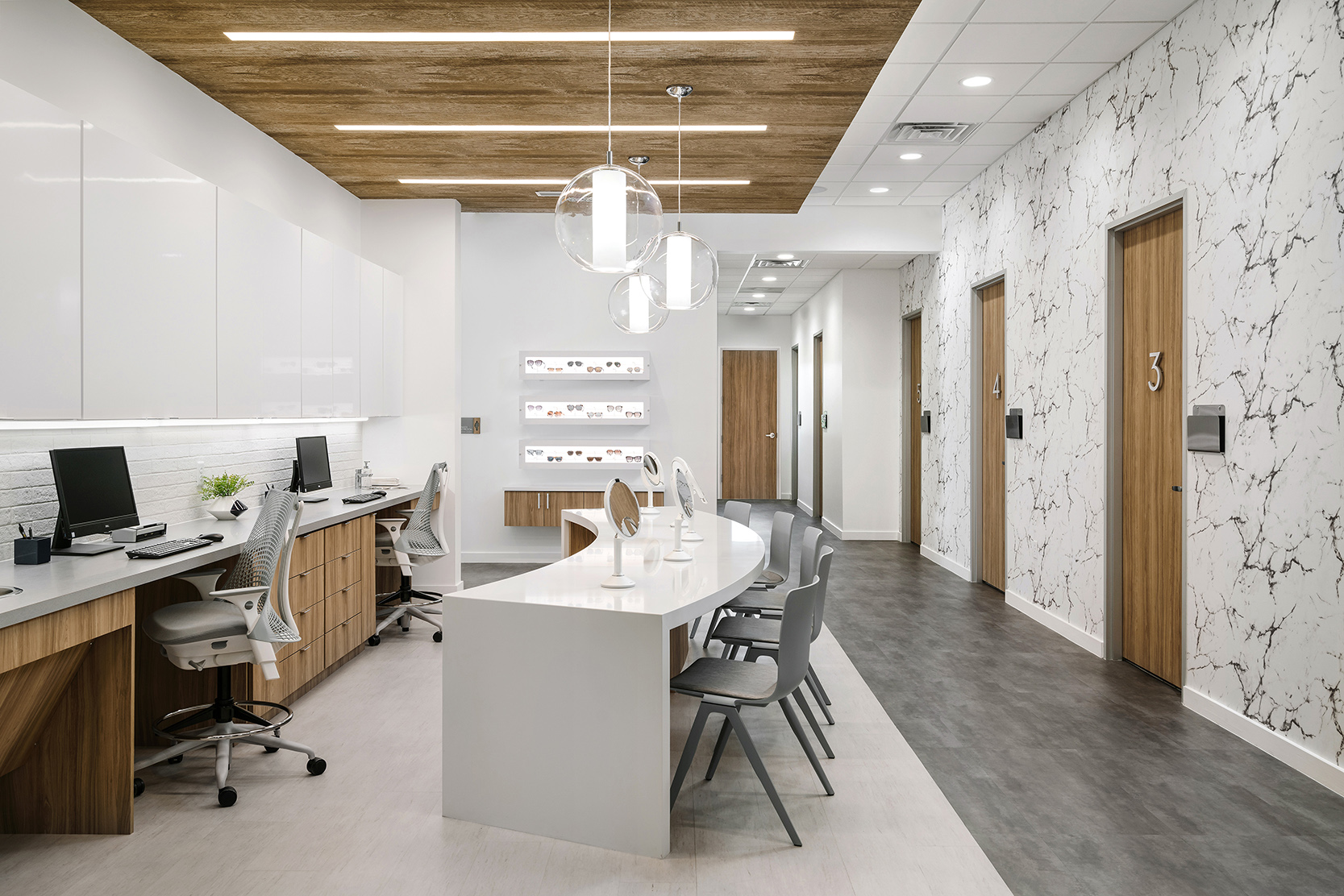 Lamm David Office Hallway