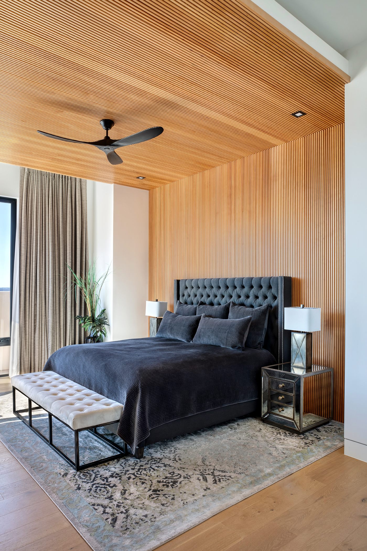 Two Coves Contemporary Master Bedroom