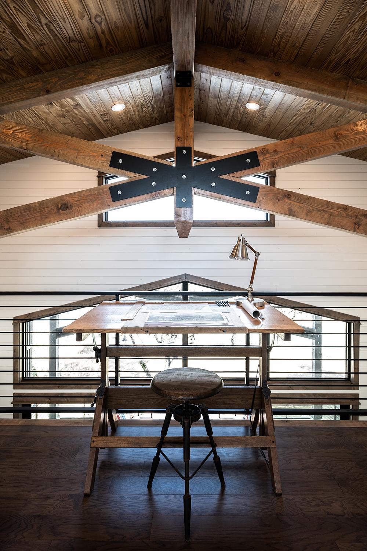 Treehouse Loft Study