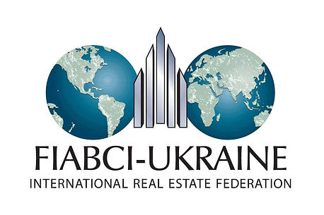 "FIABCI-Ukraine official logo - офіціне лого ГО ""ФІАБСІ-УКРАЇНА"""