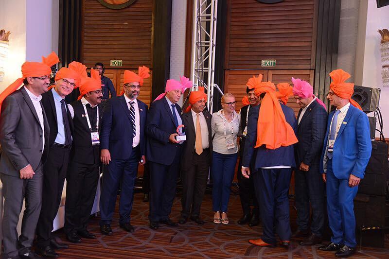 Ukranian Delegates at 9th NAR-India Convention in Mumbai