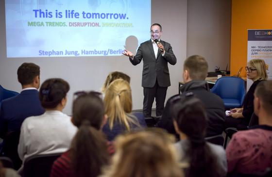 Stephan Jung став гостем інноваційного HUB 4.0 за запрошенням FIABCI-Україна та партнерів