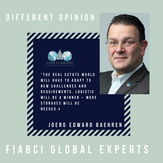 """Post-quarantine transformation in real estate"" - interview with Joerg Baehren, FIABCI Global Expert"