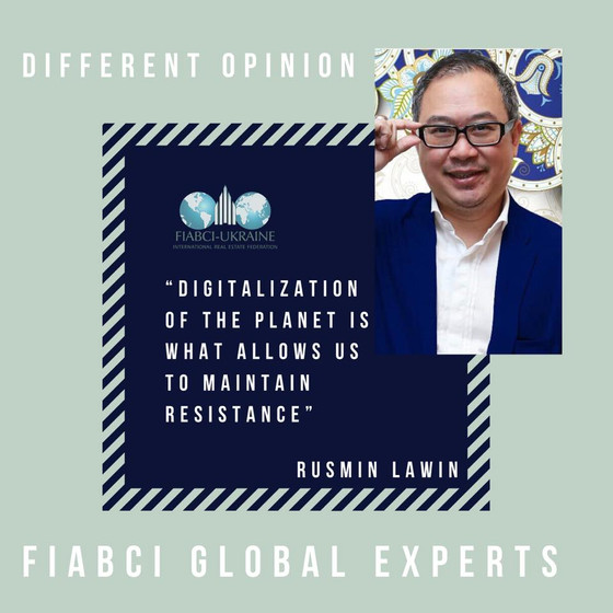 Digitalization of Planet is what allows us to maintain resistance, - Rusmin Lawin, FIABCI-Indonesia