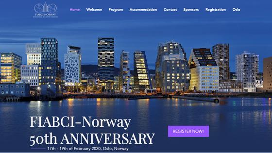 FIABCI-Норвегія у лютому 2020 року святкує 50 річний ювілей та приймає Президентів FIABCI Europe