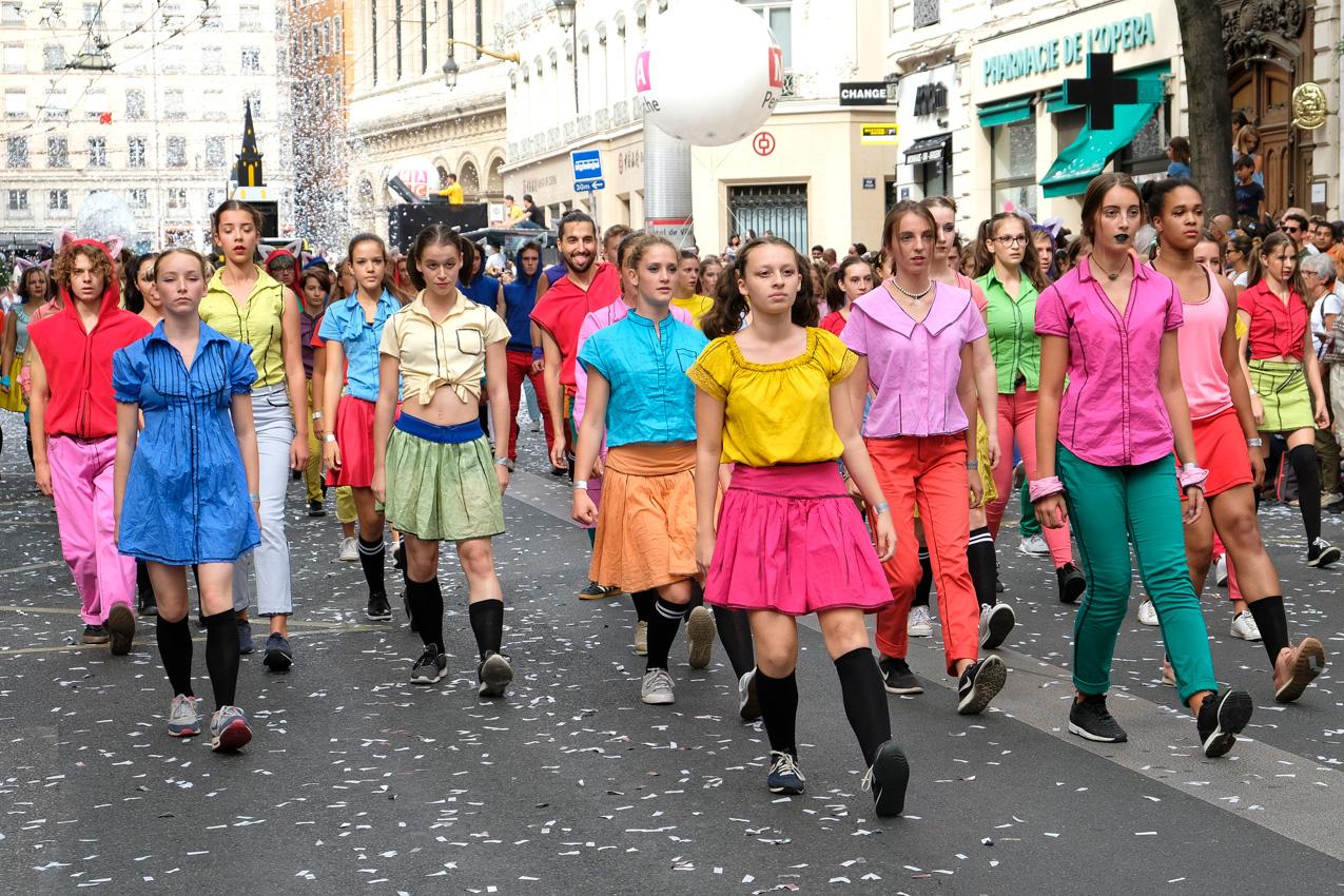 Défilé Biennale de la danse