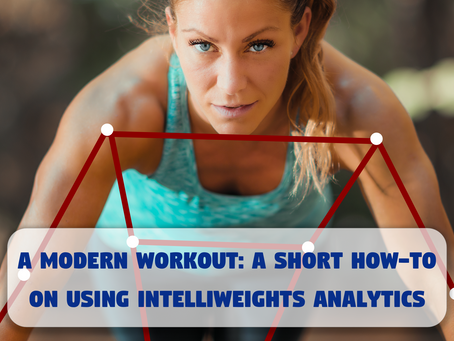 how-to use intelliWeights analytics
