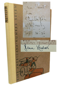 Dawson Overland to California - Jean Hersholt collection with inscription by Hugh Walpole