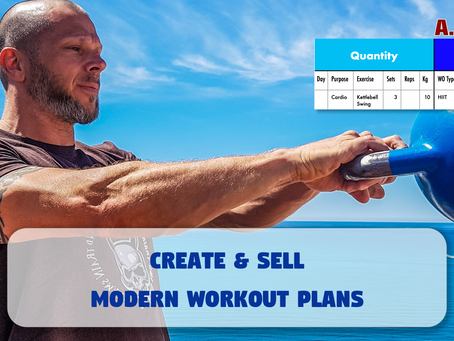 Create & sell modern workouts with intelliweights