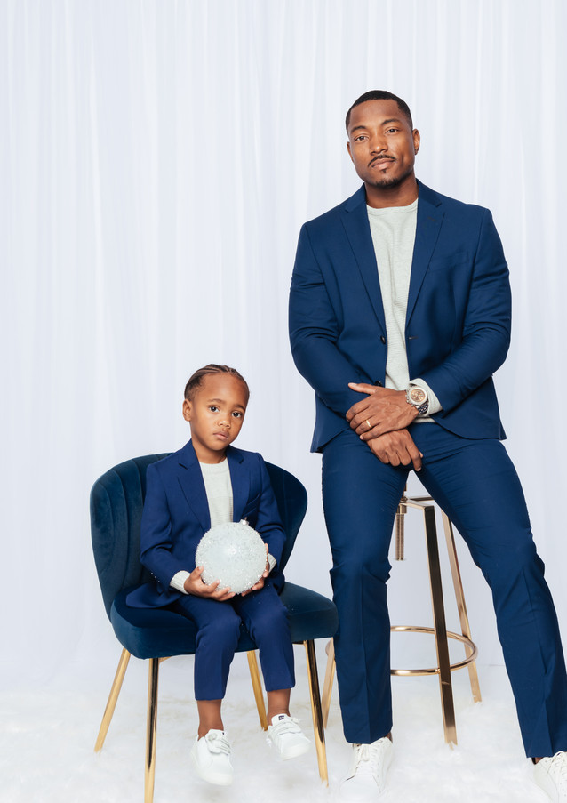 Father son Photo Shoot Styling
