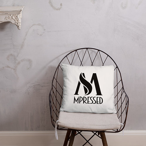 M'Pressed Branded Pillow