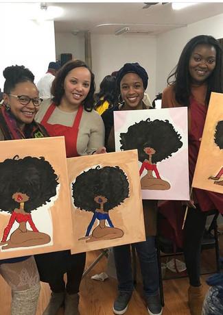 Paint party ladies night