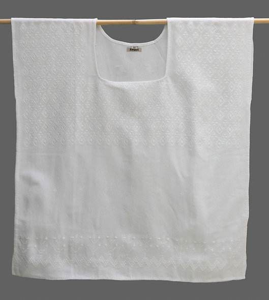 Blusa Carranza (cuello cuadrado)