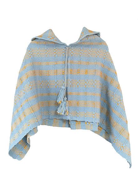 Mañanita de lana y algodón